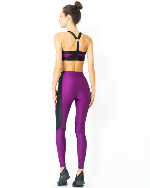 RSP Fashion - Stanley High Waist Contrast Yoga Workout Legging