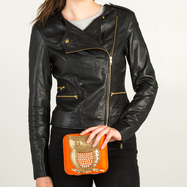Sata Fashion - Black Leather Jacket