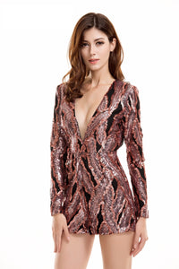 Evelyn Belluci - Sequin Playsuit