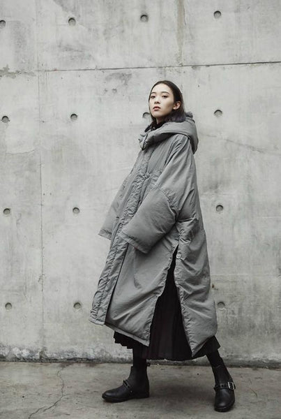 Marigold Shadows - Griswold Oversized Puffer Coat