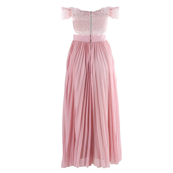 Evelyn Belluci - Two Piece Pink Dress