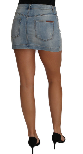 Mini Skirt Denim Jeans Short