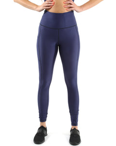 RSP Fashion - Venice Activewear Leggings - Navy [MADE IN ITALY] - Size Small