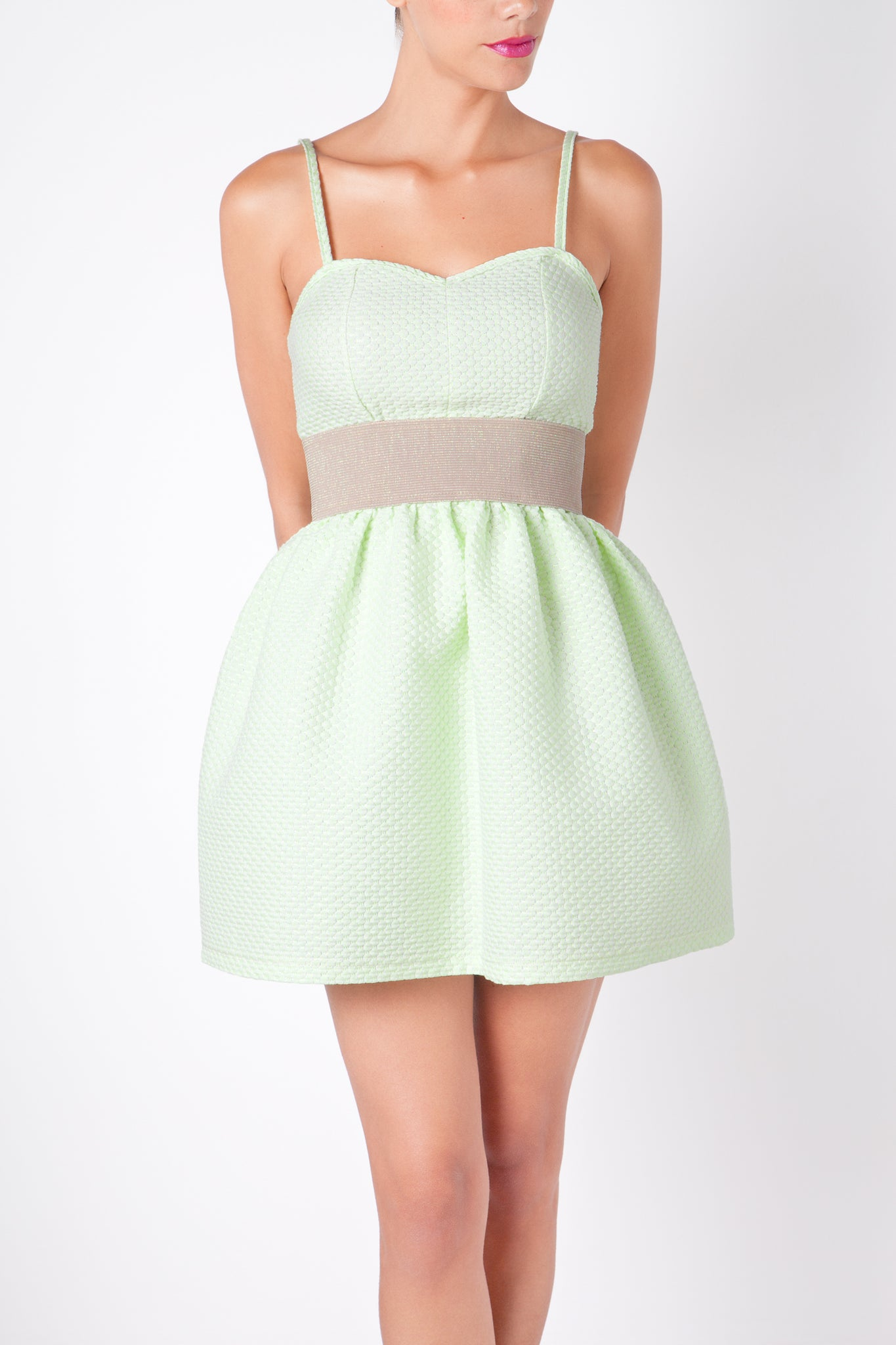 Anamayadesign - Lime Dress