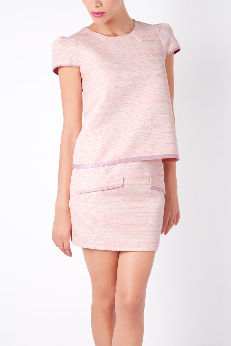 Anamayadesign - Pink Top & Skirt