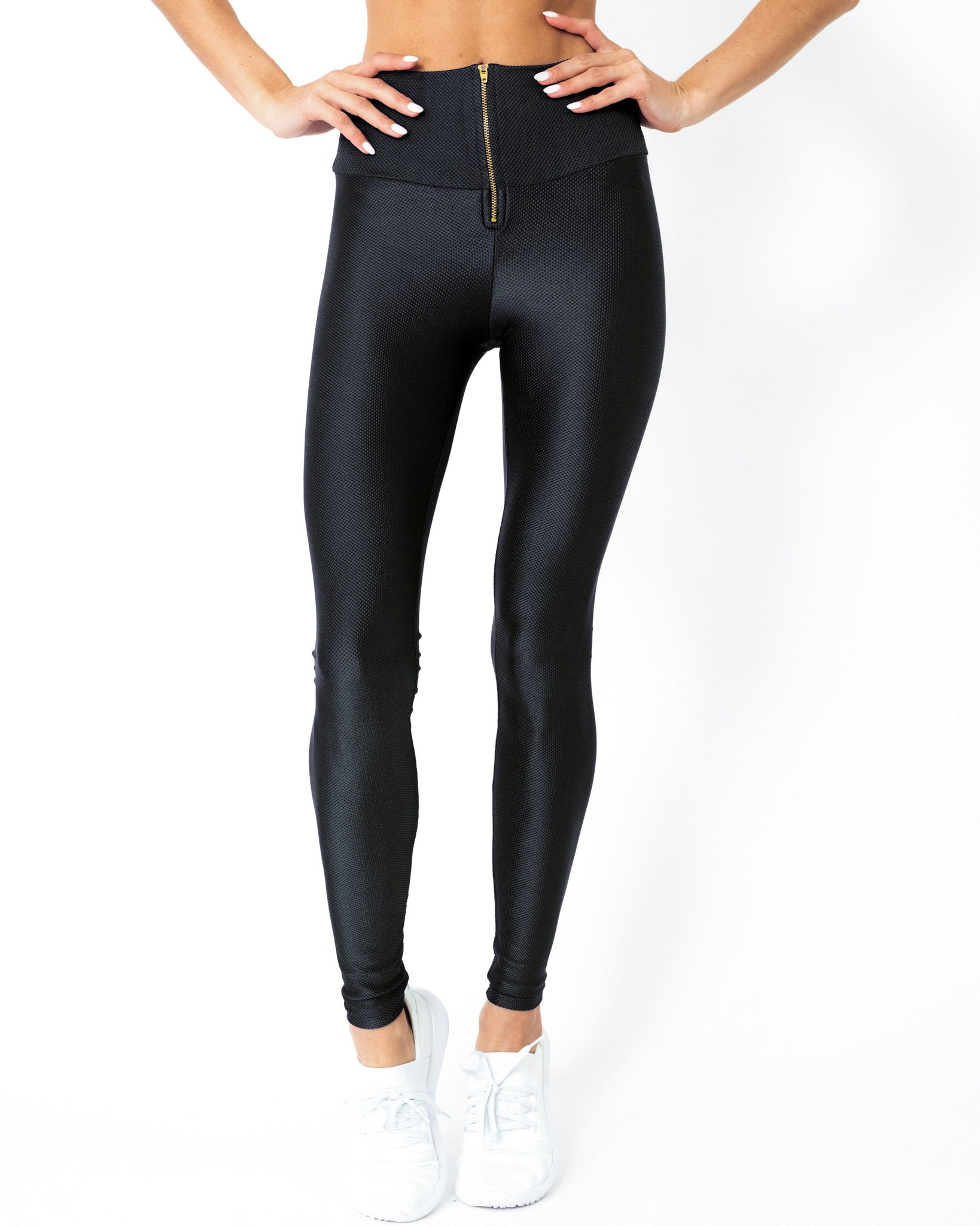 RSP Fashion - Nova Glam Body Sculpting Leggings - Black