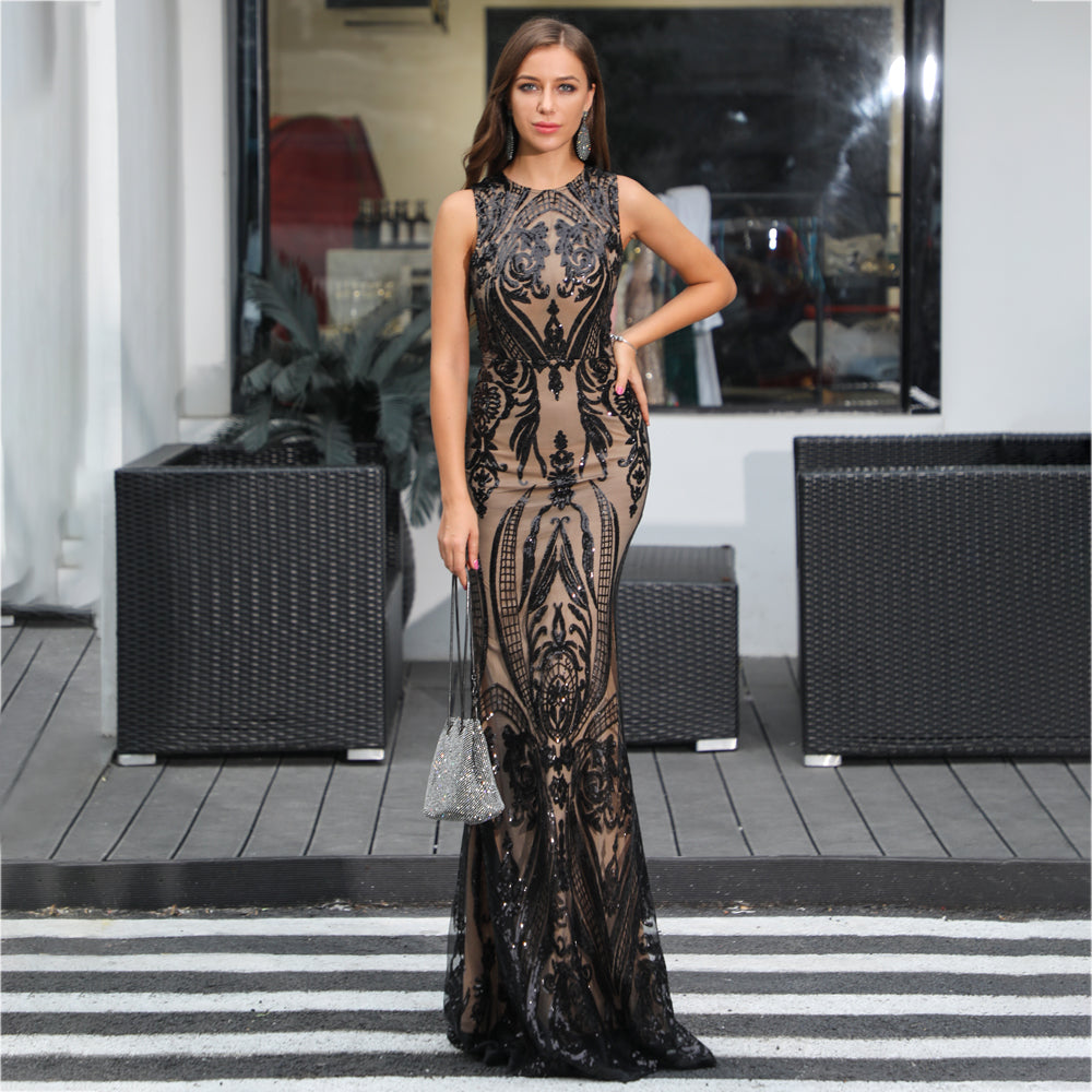Evelyn Belluci - Charlize Sequin Gown