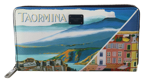 Multicolor Taormina Dauphine Leather Continental Clutch Wallet