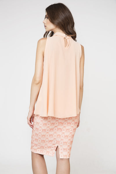 Conquista - Tie Detail Sleeveless Top