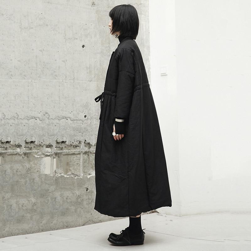 Marigold Shadows - Sutando-Eri Pocket Long Coat