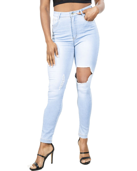RSP Fashion - Tullis Distressed Skinny Jeans