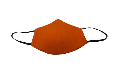 Scuba Orange - Designer Fashion Face Mask