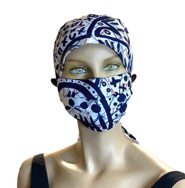 Blue Hero - Designer Head Cover Surgical Style