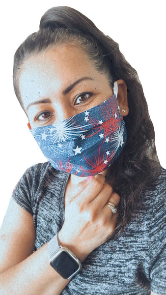 Patriot - Surgical Style Designer Face Mask