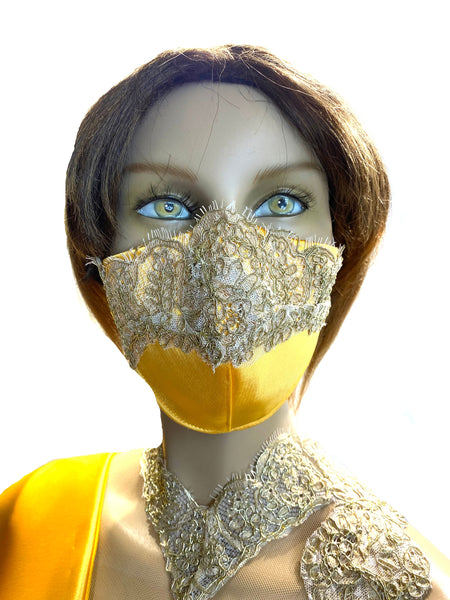 Royal Gold - High Fashion Face Mask - Limited Edition