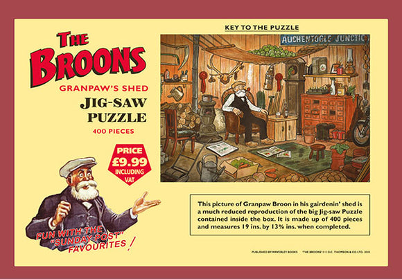 The Broons Jigsaw: Granpaw's Shed