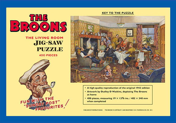 The Broons Living Room Jigsaw