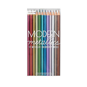 Modern Metallics Colored Pencils | OOLY