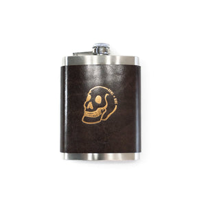 Howl & Hide Black Flask
