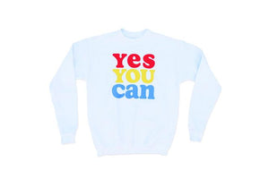 Sweatshirt | Yes You Can | Oxford Pennant