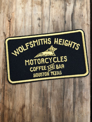 Wolfsmiths Heights Embroidered Patch | Wolfsmiths Heights