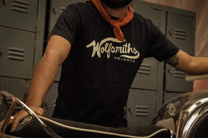 Wolfsmiths Black T-Shirt | Wolfsmiths Heights