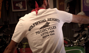 Wolfsmiths Heights White T-Shirt | Wolfsmiths Heights