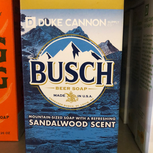 Busch Beer Soap