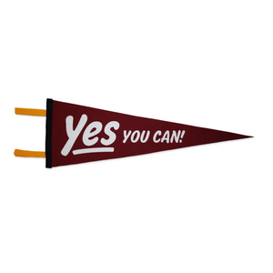 Pennant | Yes You Can | Oxford Pennant