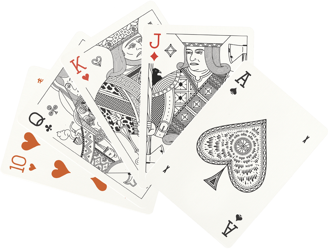 Ivory Playing Cards | Misc Goods Co