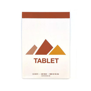 Tablet Notepad | Mountains | Three Potato Four