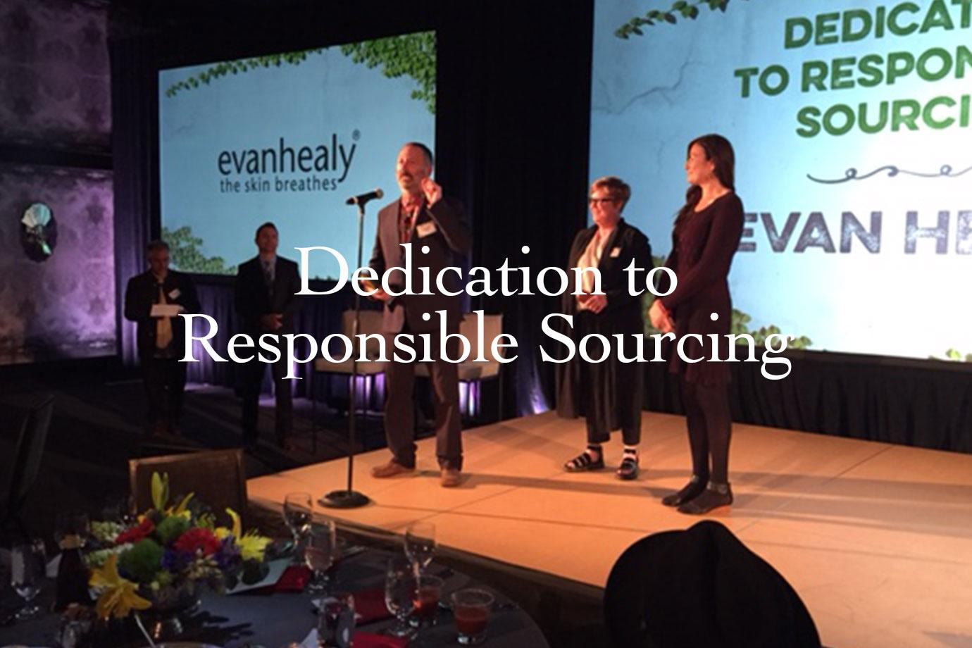 Dedication to Responsible Sourcing