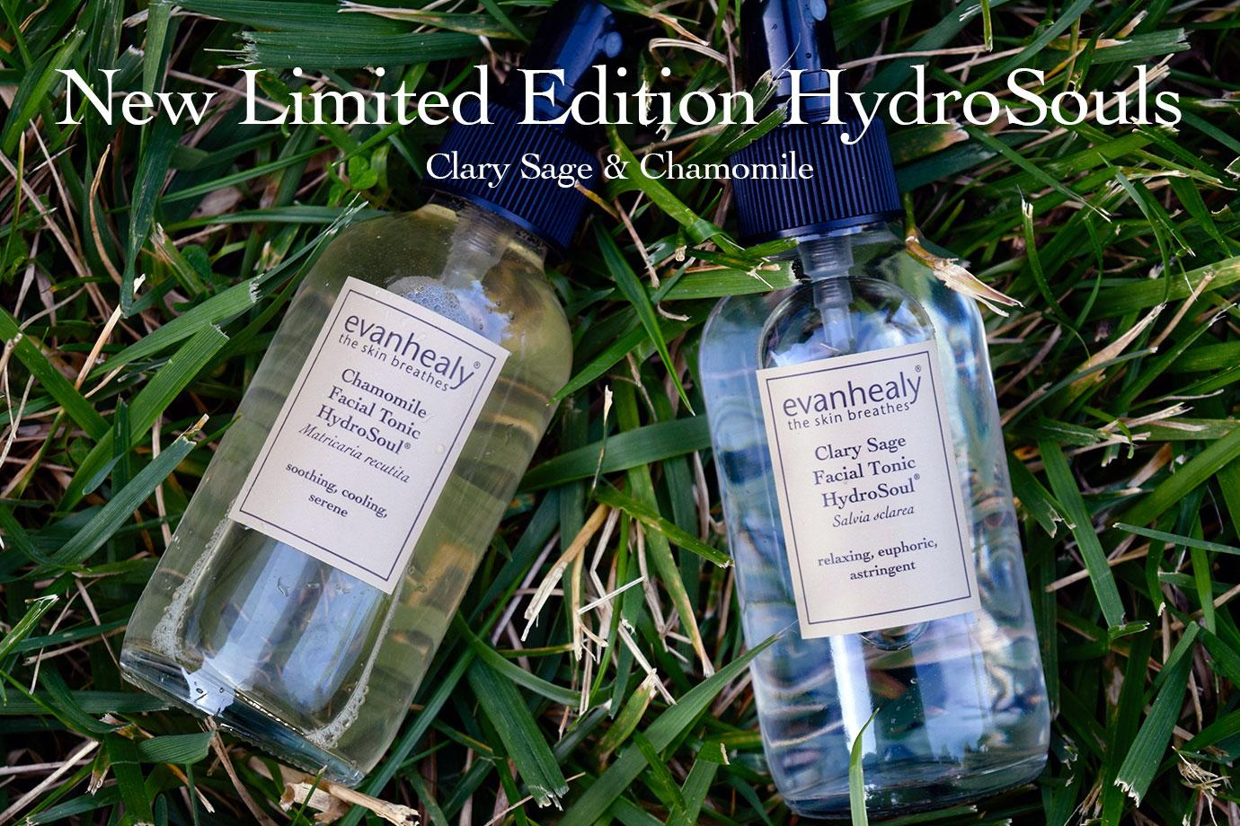 New Limited Edition HydroSouls -- Clary Sage & Chamomile.