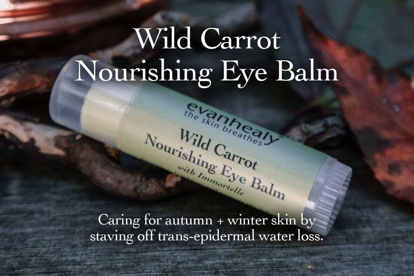 Wild Carrot Nourishing Eye Balm - For Face and Eyes