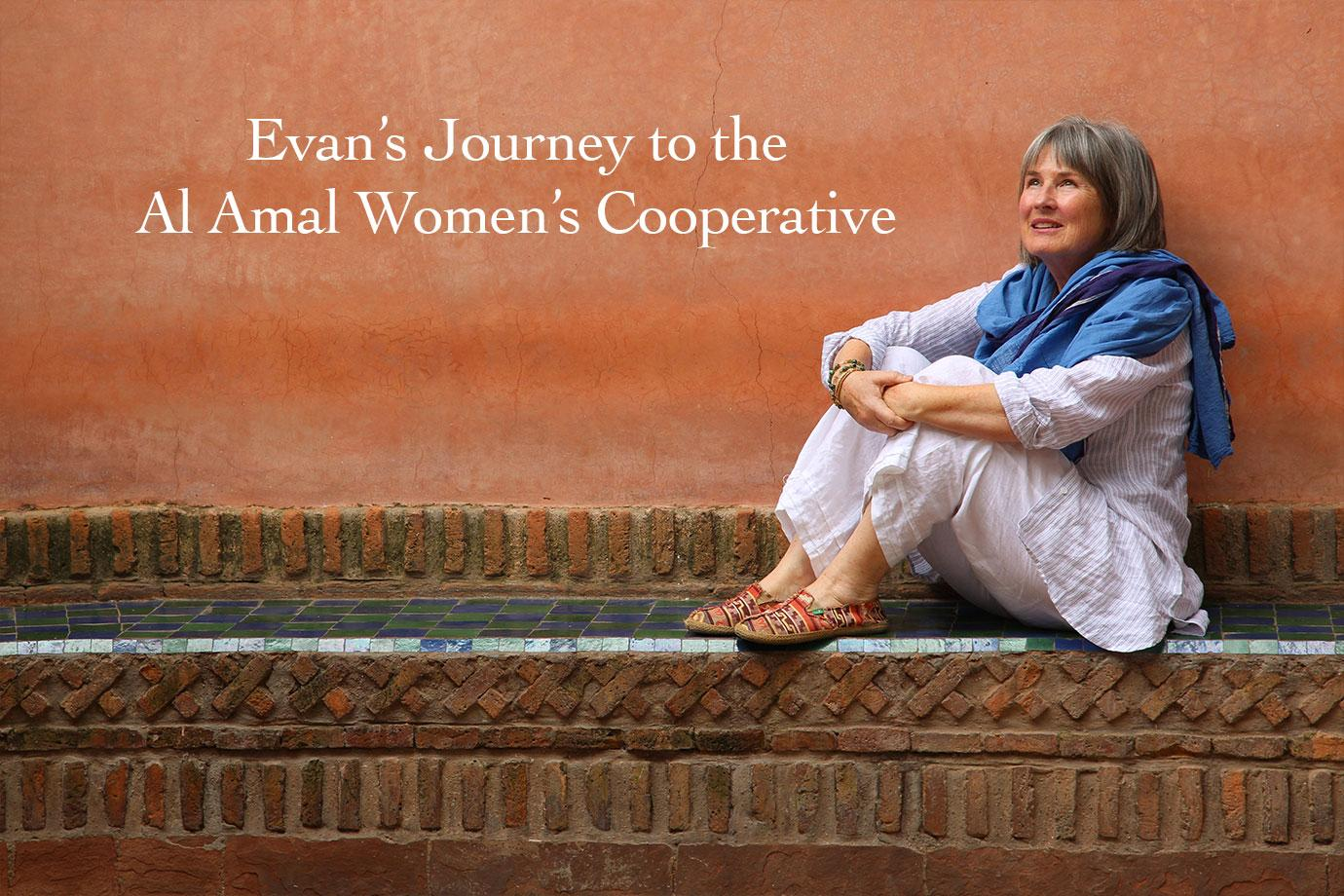 Evans Journey to the Al Amal Womens Co-operative