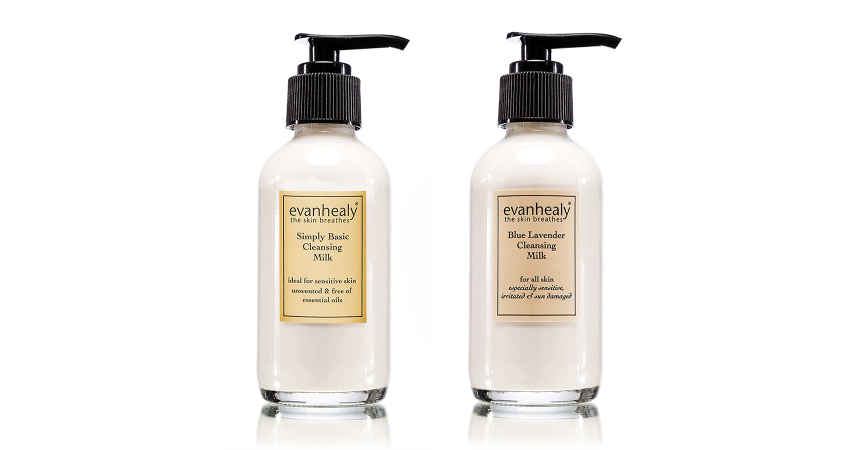 evanhealy Simply Cleansing Milk and Blue Lavender Cleansing Milk