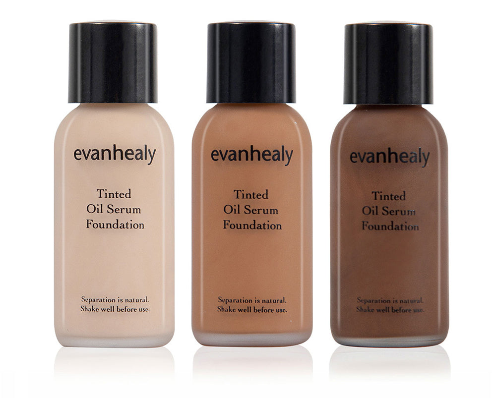 evanhealy Tinted Oil Serum Foundation - shade  10, 55, 90