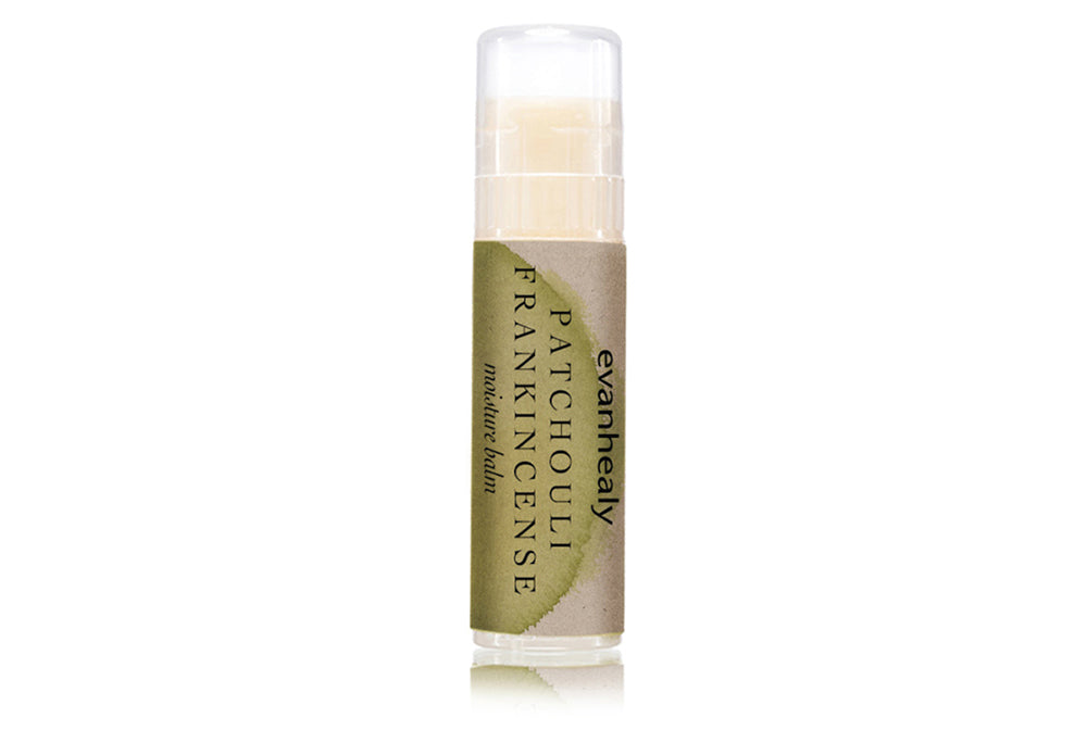 evanhealy patchouli frankincense face balm