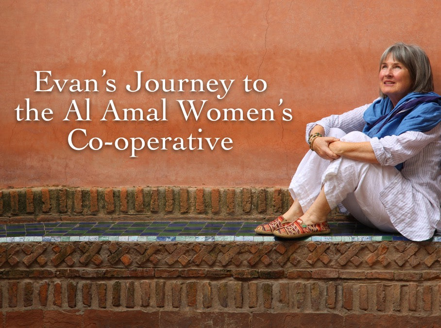 Evan's Journey to the Al Amal Women's Co-operative