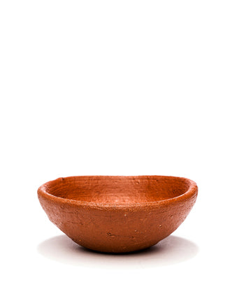 terra cotta clay bowl