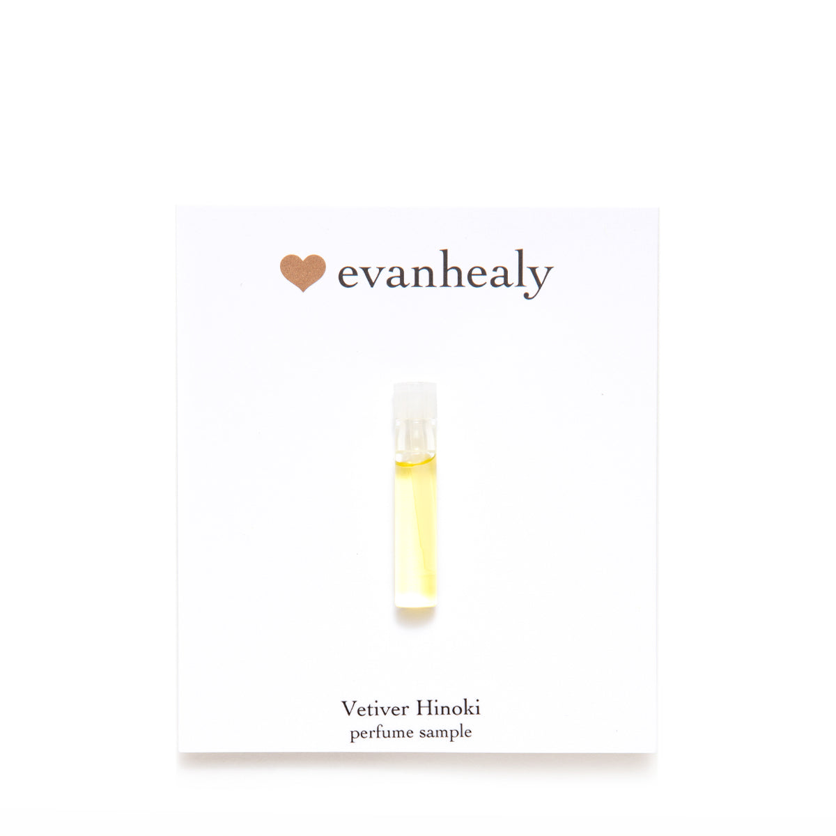 Vetiver Hinoki Perfume Sample