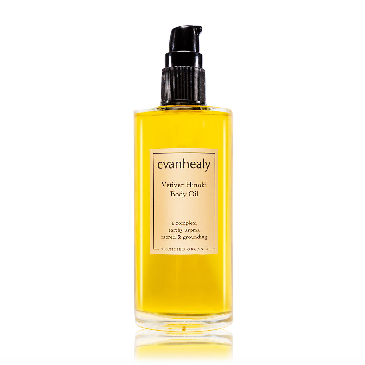 Vetiver Hinoki Body Oil