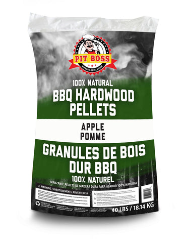 Pit Boss Apple Pellets- 100% Natural Hardwood Pellets