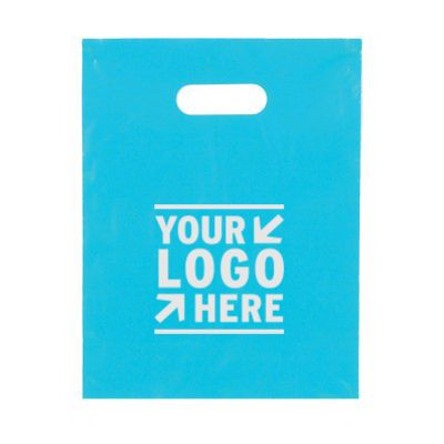 "Colored Die Cut Merchandise Bag (9"" x 12"") #DH9"