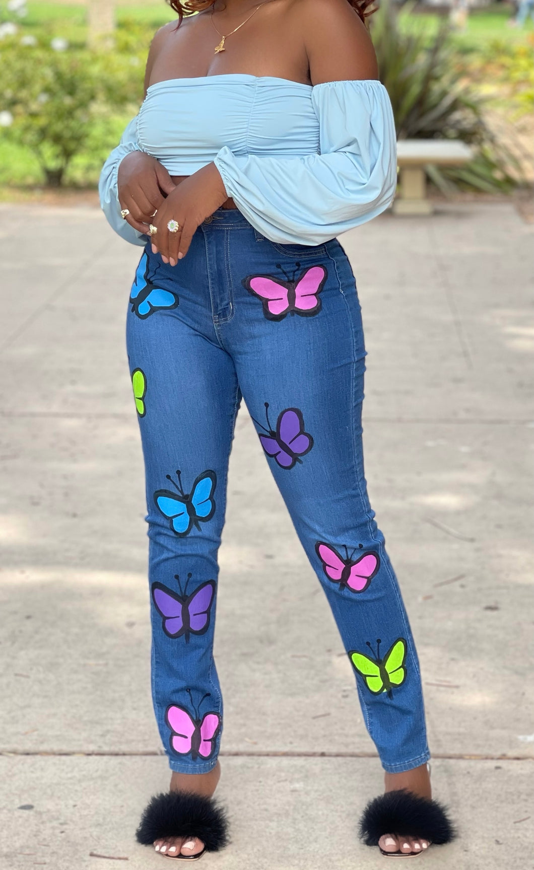 Simpson's Flower Bell Bottoms