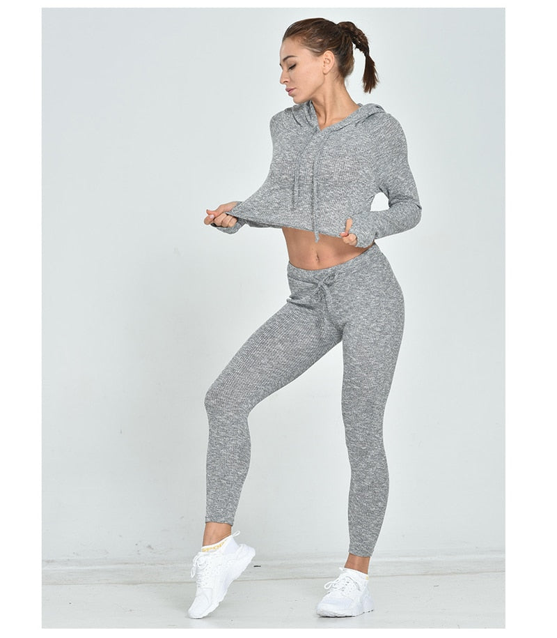 Hooded Running Set
