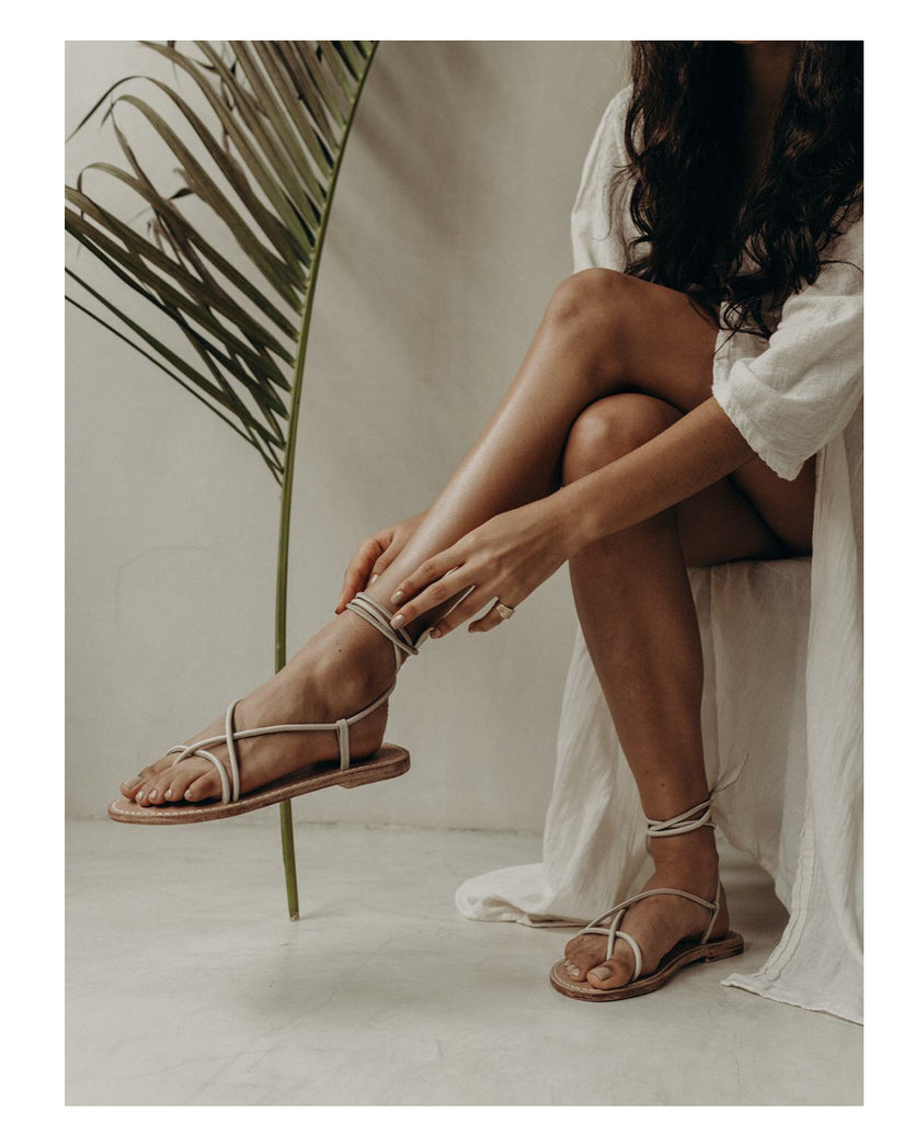 By James Lorenza Sandal