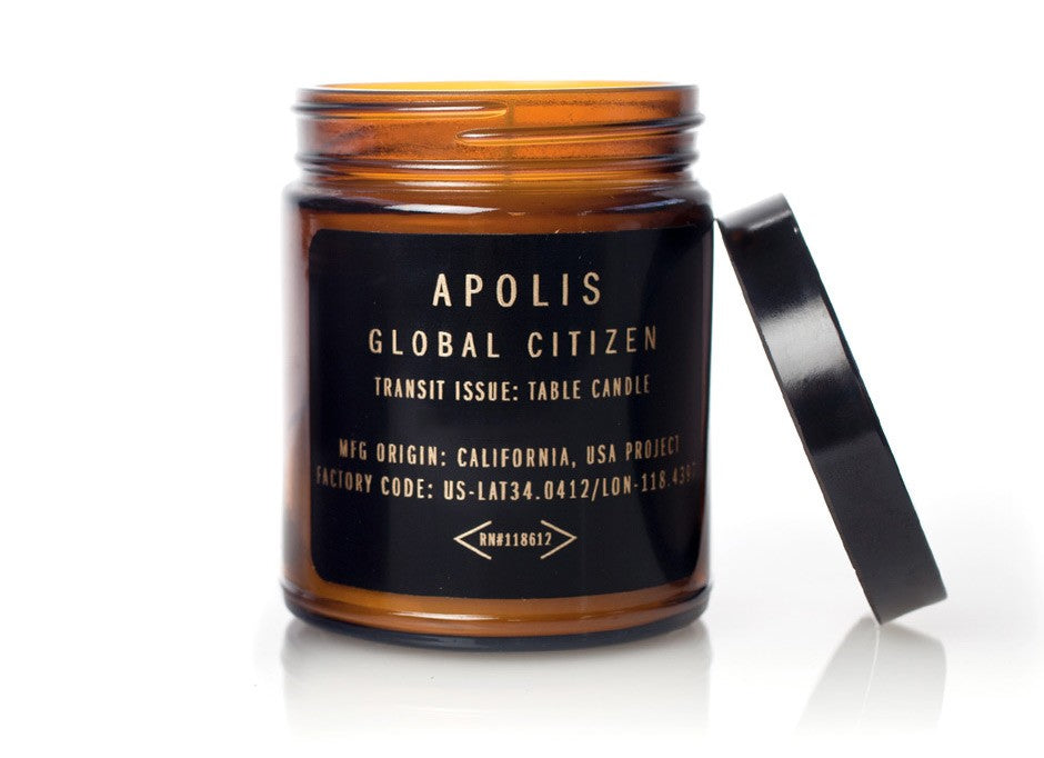 Apolis Transit Issue Table Candle