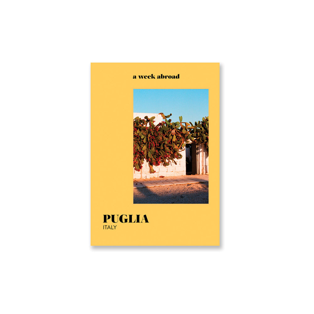 Load image into Gallery viewer, A Week Abroad : Puglia Book