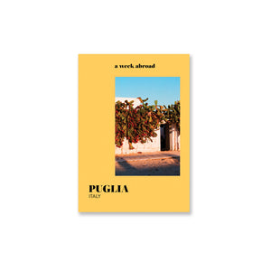 A Week Abroad : Puglia Book